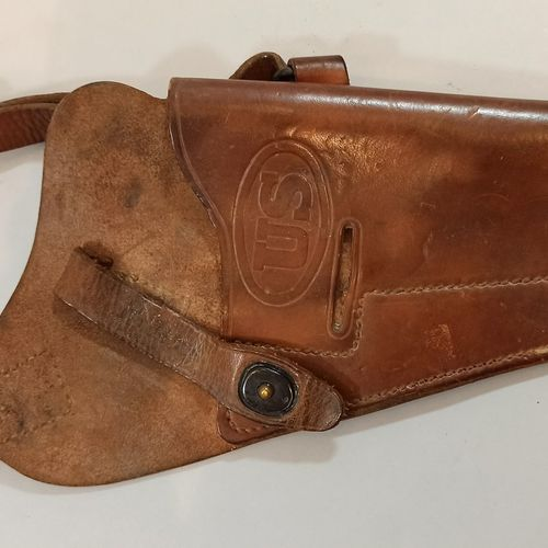 Colt 45 tanker case, year 1943.  Good condition.