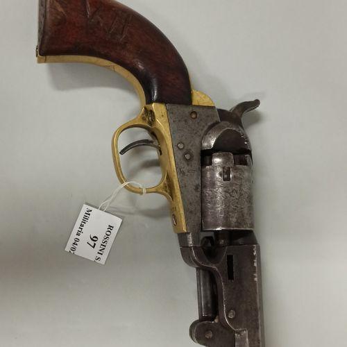 Black powder revolver CAL 32 model BABY DRAGOON  Made by COLT, barrel marked: AD…