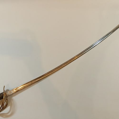 Sabre type 1822 without scabbard manufacture manufacture Saint Etienne
