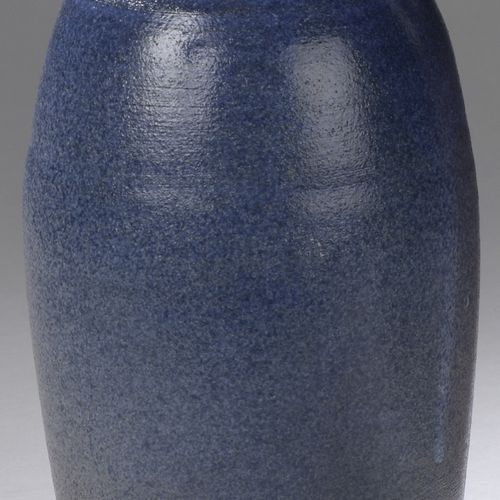 Jacques & Michèle SERRE (born in 1936 and 1934)  Stoneware bottle vase with ovoi…