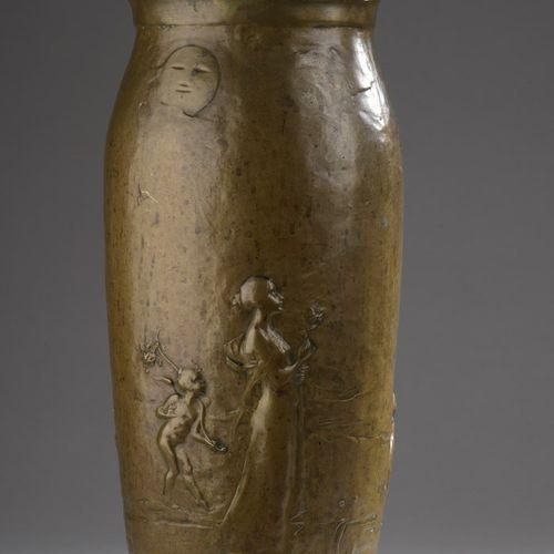 Gustave Joseph CHERET (1838 1894) & Eugène SOLEAU (publisher Paris)  A vase of l…