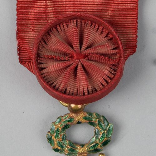Gold Officer's Cross of the Legion of Honour.  With its ribbon.  TBE  Third Repu…
