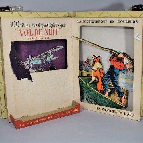THE COLOR LIBRARY  by PUBLINEL, Paris Lyon, circa 1960.  Automatic window displa…