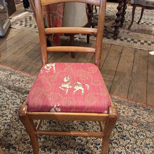 Six chaises XIXème dites à barrettes.