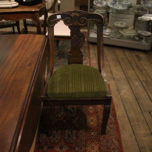 Paire de chaises gondoles,  Epoque Restauration.