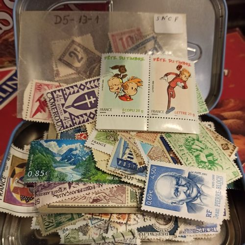 Lot de vracs de timbres