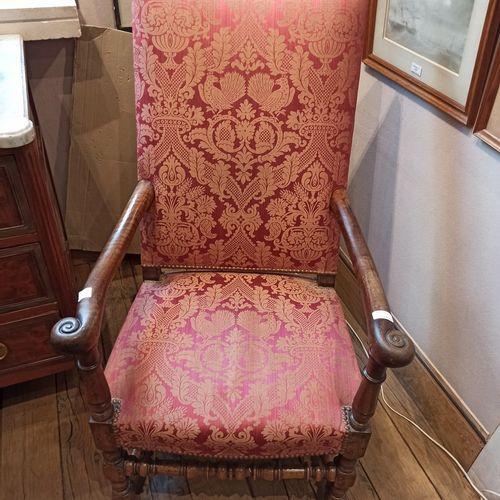 Fauteuil rustique  Style Louis XIV