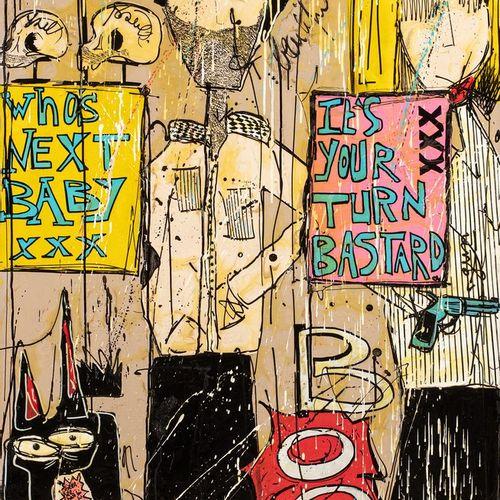SAMSON Nolwenn, née en 1979  Who's next, 2013  technique mixte sur toile, signée…