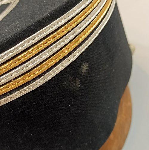 Képi de Lieutenant Colonel de sapeur pompier départemental.  TBE
