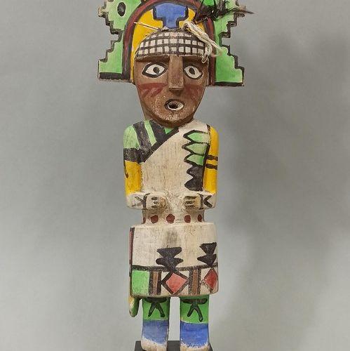 Kachina CHALAKO MANA HOPI (Arizona USA)  Circa 1960/70  Hauteur: 36cm