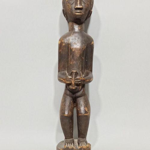 Statuette Baoulé, Côte d'Ivoire.  H.: 44,5 cm