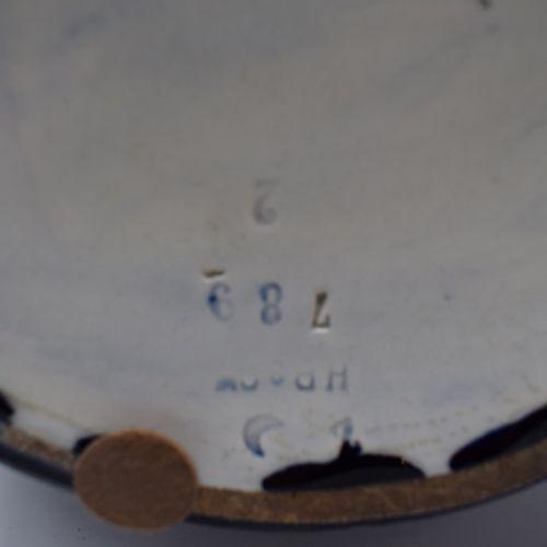 Bijou de chevalier Rose Croix.  Bronze et émail.  XIXe siècle.  H. : 9.8 cm L. :…