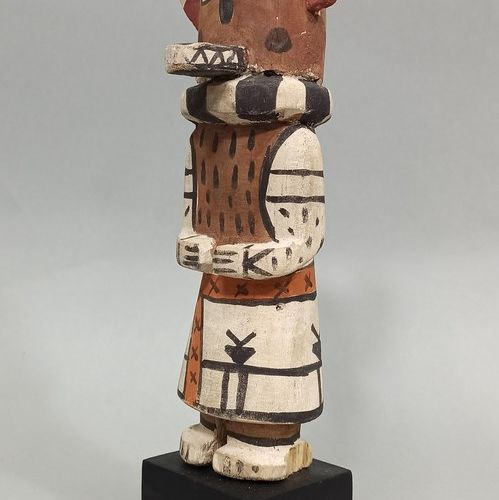 Kachina KWEO (Kachina loup) HOPI (Arizona USA)  Circa 1960/70  hauteur: 24cm