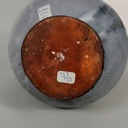 KOHLER Fernande (XXe siècle)  Pichet gargoulette.  Terre de Vallauris, signature…