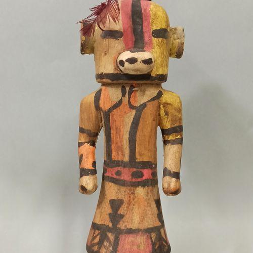 Kachina HEHEYA (Kachina colorée) HOPI (Arizona USA)  Kachina liée aux moissons. …