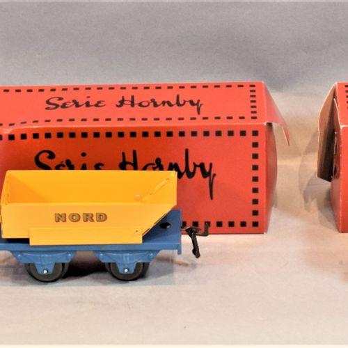 HACHETTE Série HORNBY  Cinq wagons de marchandises, échelle « O » :     Wagon tr…