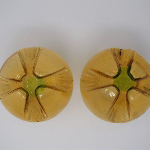 Gaetano SCIOLARI (1927 1994)  Luminaire Mazzega en métal chromé et sphères de ve…