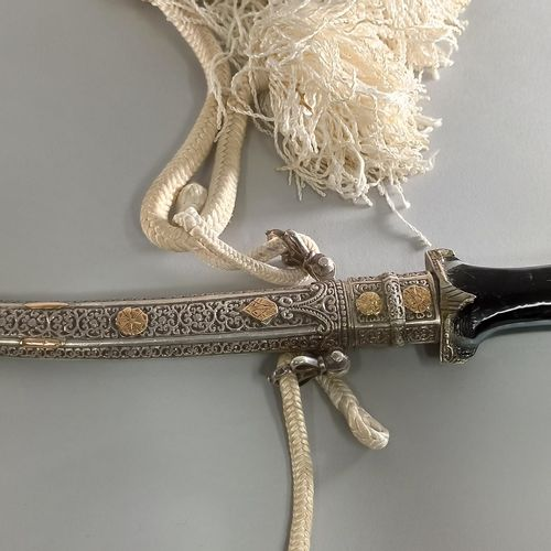 MAROC, XXeme siècle,  Poignard  Long.: 40 cm