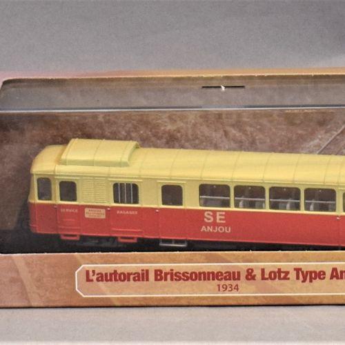 ATLAS版系列 米其林和汽车用品  三套1/87比例的产品。     Brissonneau & Lotz 1934年的Anjou型轨道车   1935年的B…