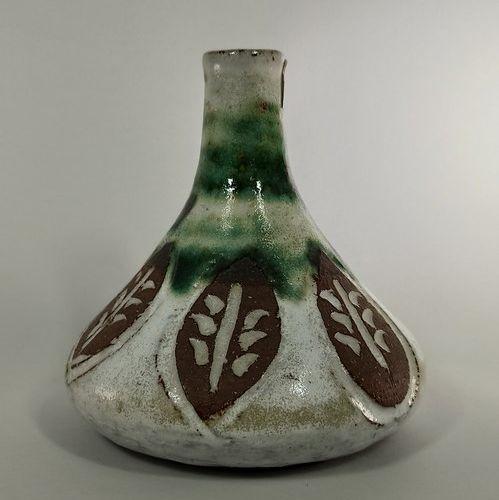 THIRY Albert (1932 2009) et Pyot (née en 1932)  Lot de deux pièces :   Vase Pich…