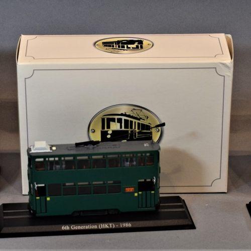 EDITION ATLAS Collections TRAMWAY  Trois coffrets à l'échelle 1/87 :     Tramway…