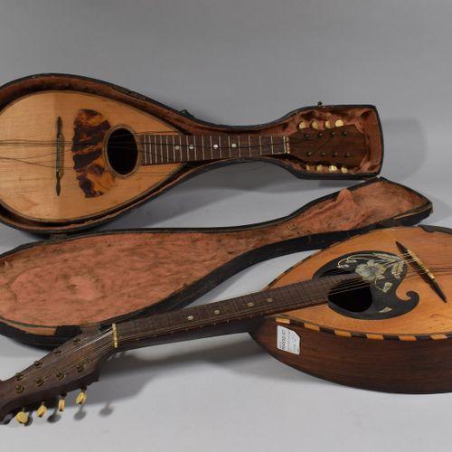 Une mandoline Lazarro, et une mandoline de fabrication française  Petits acciden…