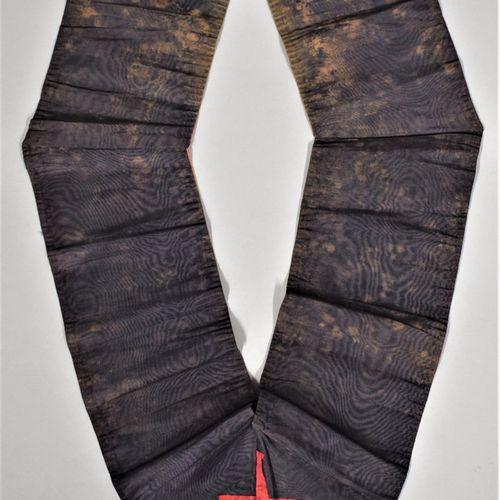 Camail chevalier Rose Croix.  XIXe siècle.  H. : 53 cm