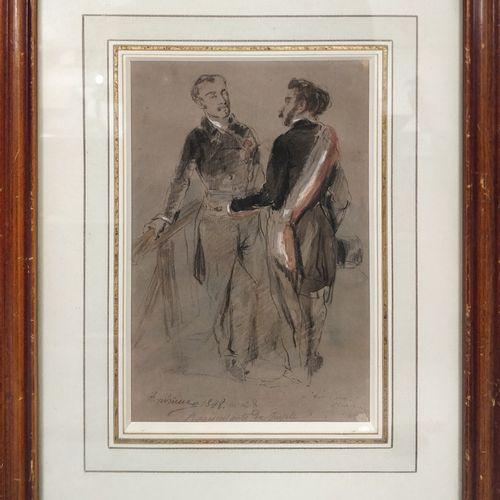 ANDRIEUX Clément Auguste, 1829 1880,  Représentants du peuple, 1848 Le Fantassin…
