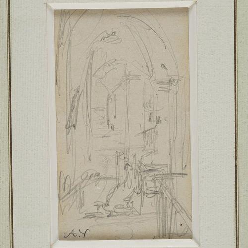 VOLLON Antoine, 1833 1900  Chaire à l'église Intérieur d'église Architecture  tr…