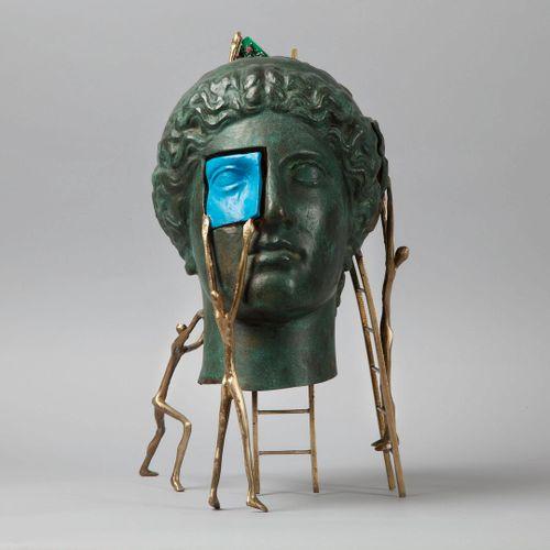 YANNI, Souvatzoglou Yanni dit, né en 1946 [Greek artist]  Reconstruction of an i…