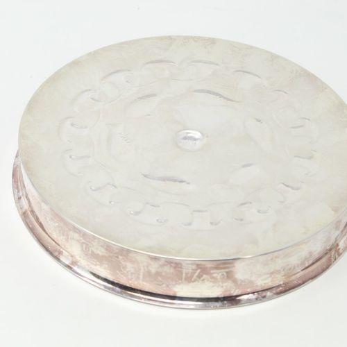 Copie de la Coupe de thoutii en métal argenté, édition RMN.  Diam : 18.5 cm