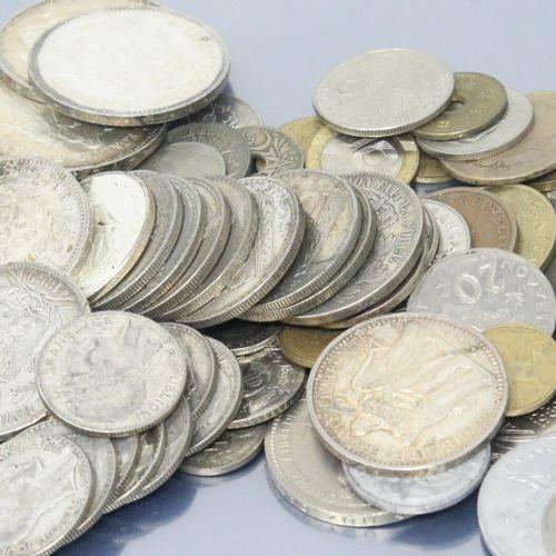 Lot de pièces en argent comprenant :   100 francs statue de la liberté (1986)   …