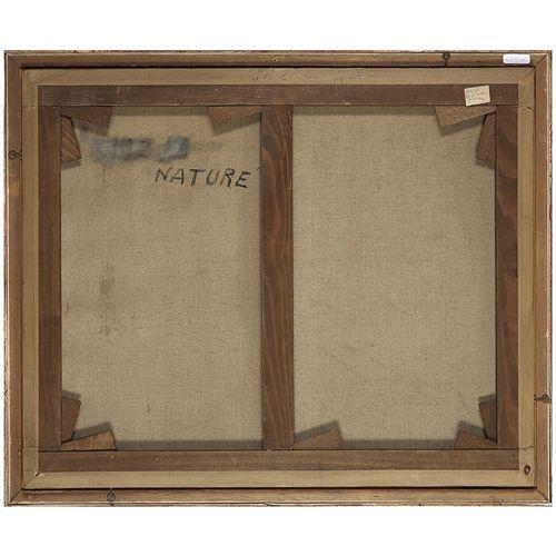 ANDRÉ HAMBOURG (1909 1999) LES NATURISTES, 1937 Huile sur toile Signée, titrée, …