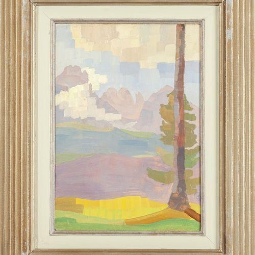 GARGANI ALFREDO UBALDO ALFREDO UBALDO GARGANI (1898 1947) Impression d'un lac hu…