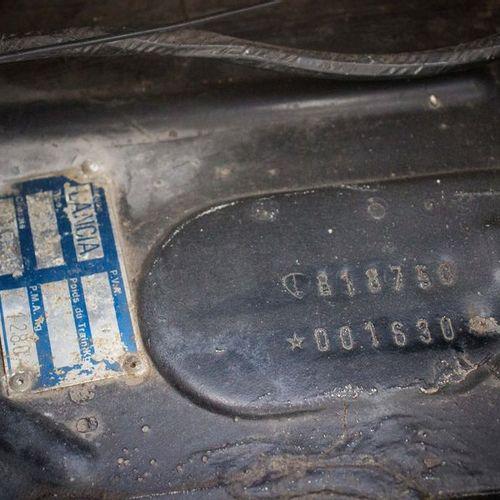 1972 LANCIA Fulvia Sport 1600 Zagato Numéro de série 818750 001630  Moteur numér…