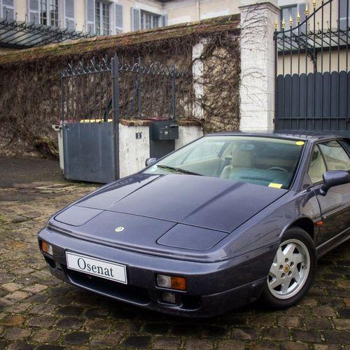 1990 LOTUS ESPRIT TURBO SE Numéro de série SCC082910LHF65532  Très bel état d'or…