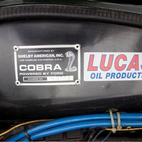 1977 AC COBRA LIBRA M Numéro de série M3398  Belle combinaison de couleurs  Rare…