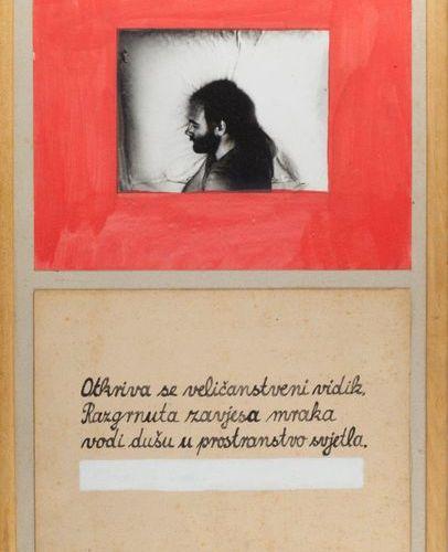 """MARIJAN MOLNAR (HRV/ NÉ EN 1951) Sans titre (Otkriva se velicanstveni...) inscr…"