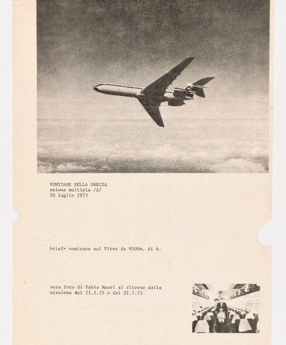 FABIO MAURI (ITA/ 1926 2009) Vomir sur la Grèce (Vomitare sulla Grecia / Mail Ar…