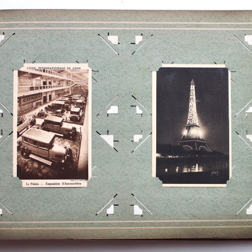 Album 270 Postcards  Set of postcards contained in an album. Composed of::   253…