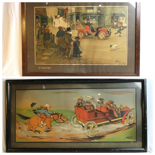 Pursuit & Country   Lithograph signed lower right A.Melymk, Dietrich & Co éditeu…