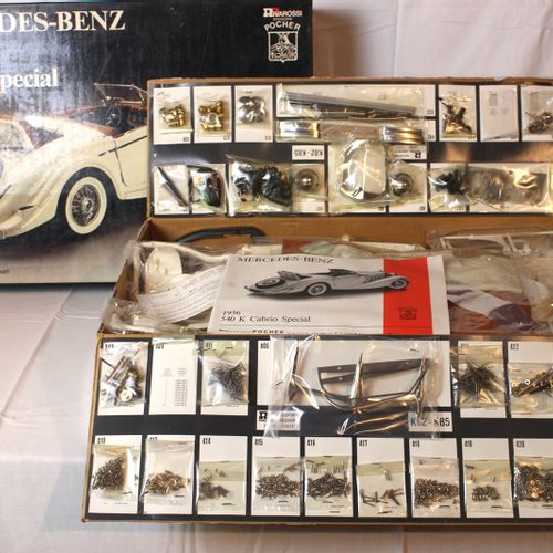 Mercedes Benz 540 K 1936 Pocher  Model to be mounted of the Italian brand Pocher…