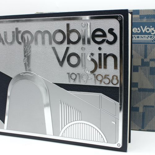 """Neighbourhood Cars  """"Automobiles Voisin 1919/1958"""" by Pascal Courteault, White M…"""