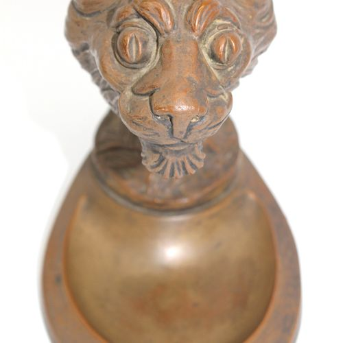 René BAUDICHON (1878 1963)  In the Fourth  Mascot mounted in an ashtray, signed …