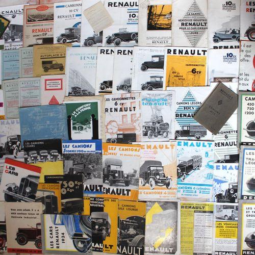 Documentation Renault Trucks before 1934  Lot of documentation on Renault trucks…