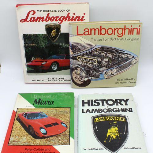 "Lamborghini Documentation  ""Lamborghini Miura"" by P. Coltrin & J.F. Marchet, Osp…"