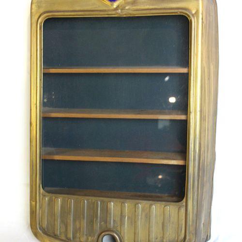 Hanomag grille  Copper Hanomag grille transformed into a four shelf display case…