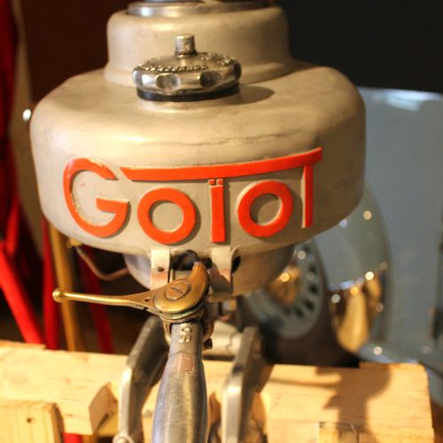 """OUTBOARD ENGINE """"GOIOT"""".  In the 1930s and 1950s, the Nantes based hardware manu…"""