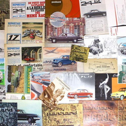 PANHARD Documentation Before 1965  Leaflet 2 parts 1947 Leaflet 2 parts Leaflet …