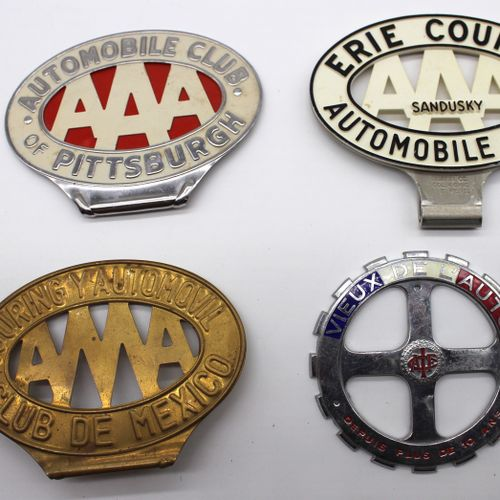 10 Automotive Badges  Set of 10 Automotive Front Grille Badges. Contains:   Enam…